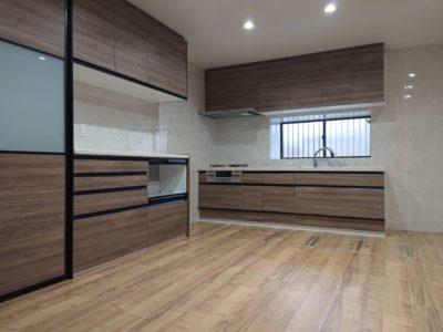 キッチンと収納がひとつになった空間
