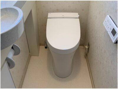 お手入れしやすいトイレ